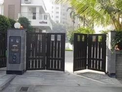Steel Automatic Folding Gate for Residential