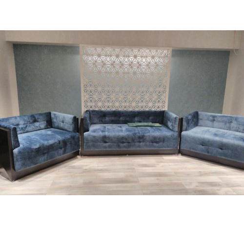 Deco Modern Velvet Sofa Set