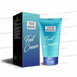 Herbal Foot Cream, Tube, Packaging Size: 100g