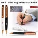 Metal Chrome Ball Pen H-1208