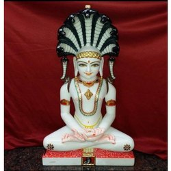 Marble Jain Mahaveer (Buddha) Statue