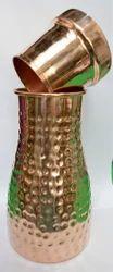 Stylish Design Original Copper Picnic Jar, Size: 11