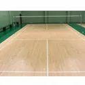 Badminton Wooden Court Construction