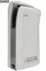 High Speed White Air Jet Hand Dryer