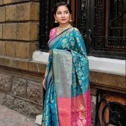 New Soft Banarasi Silk Saree