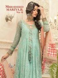 Shree Fabs Mbroidered Mariya B Vol-11 Pakistani Style Salwar Kameez Catalog