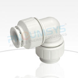 Plastic Reducing Push-Fit Elbow