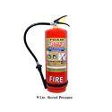 Safety Plus Mild Steel 9l Stored Pressure Foam Fire Extinguisher