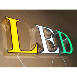 3D LED Sign Board