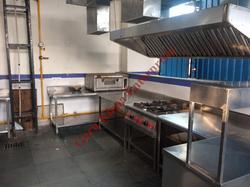 Commercial Kitchen Gas Piping System