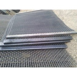 Silver SS Stone Crusher Wire Mesh