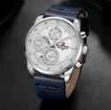 Round Nf9148 Naviforce Day Date Function Luxury Chronograph Watch, For Formal