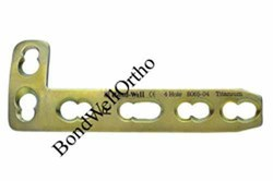 Orthopedic Implants L Buttress Plate 4.5mm