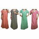 100% Cotton Ladies Trendy Cotton Night Gown