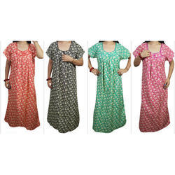 Ladies Trendy Cotton Night Gown