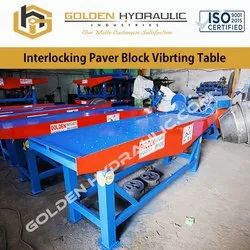 Interlocking Paver Block Vibrating Table