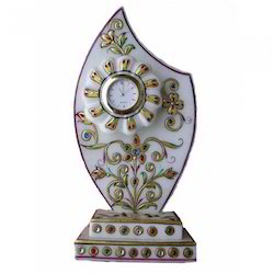 Marble Trophy Clock