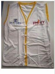 Regular Wear White PMKVY/ PMKVY Girls Jacket / PMKVY Induction Kit