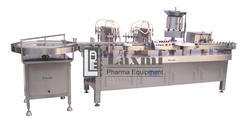 Vial Filling and Rubber Stoppering Machine