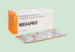 Methylcobalamine, Benfothiamine, L-Gultamic Acid, L-Arginine & Folic Acid Tablets