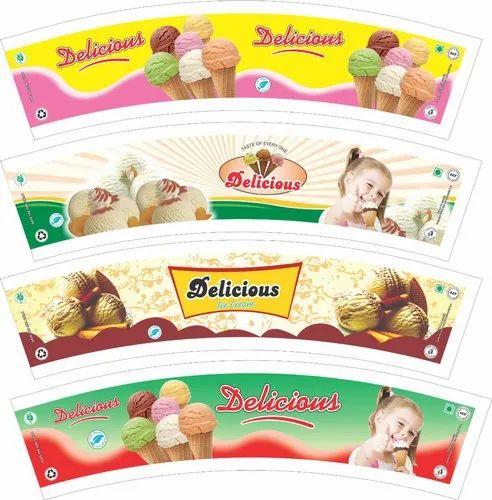 Ice Cream Cup Blanks