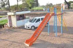FRP Playground Roller Slide SE-013