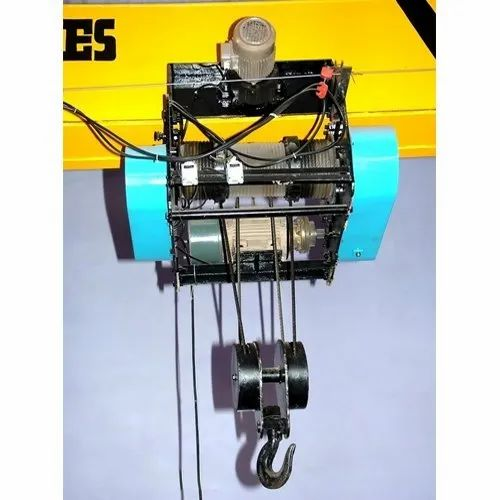 electric wire rope hoists - flexible electric wire rope hoist manufacturer  from ahmedabad