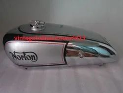 New Norton Model 18 Hand Gear Chrome And Silver Painted Petrol Tank 1930''''S