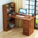 Office Wooden Computer Desk Table With Drawers