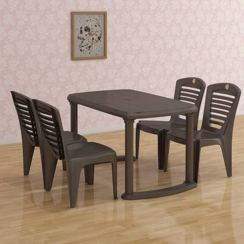 Rectangular Plastic Dining Table, Rs 3500 /piece, National ...