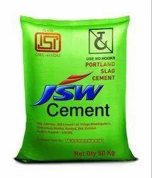 OPC (Ordinary Portland Cement) JSW Cement, Grade: A, Cement Grade: Grade 43