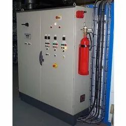 Tube Based Electrical Panel Fire Suppression System
