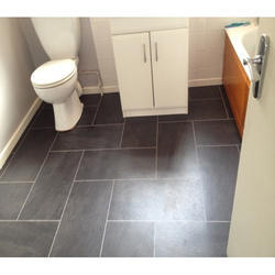 Bathroom Floor Tile Size Medium 6 Inch X 6 Inch Thickness 10
