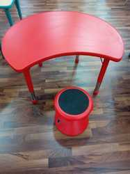 Magic Kids Red Color Chair