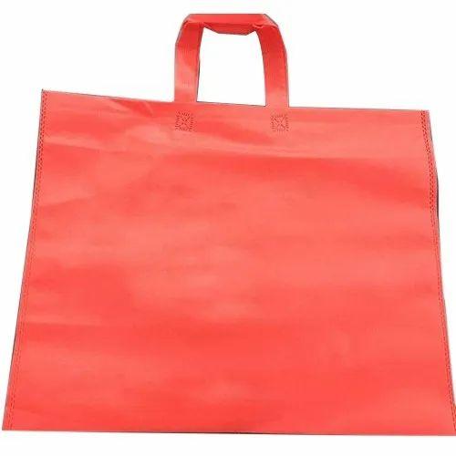 Polypropylene Non Woven Plain Loop Handle Bag