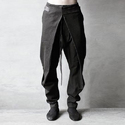 Cotton Plain Mens Harem Pant, Waist Size: 26.0