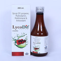 Syrup of Lycopene Multivitamin Multiminerals Antioxidant