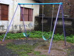Playground Double Swing