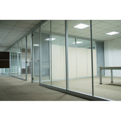 Double Glazed Glass Partition