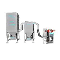 Spark Arrest Dust Collection Systems for Buffing Machines