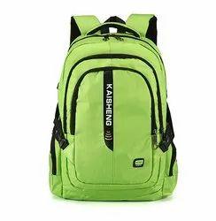 Famous Nylon School Backpack Plain Backpack