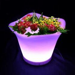 LED Color Changing Flower Pot