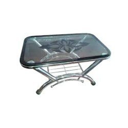 Polished Stainless Steel Table