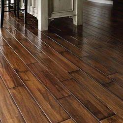 Brown Indoor Wooden Flooring