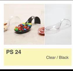 Fancy Disposable Plastic Spoon
