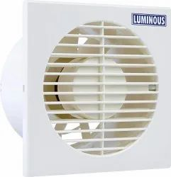 White Luminous 150 mm Vento Axial Exhaust Fan for Kitchen