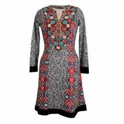 Ladies Cotton Kurti, Size: S - XXL