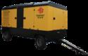 Prime Tewatt Trolley Mounted Diesel Driven Screw Air Compressor, Twt1364d-35f