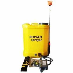 Yellow Double Pump Dual Motor Sprayer 12 v 12 AH