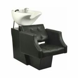 Leather Hair Wash Chair